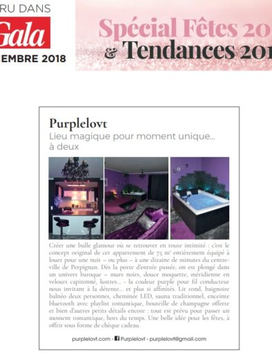 Purple Lovt dans Gala